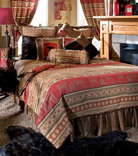 lodge comforter adirondack by carstens lodge bedding by carstens lodge