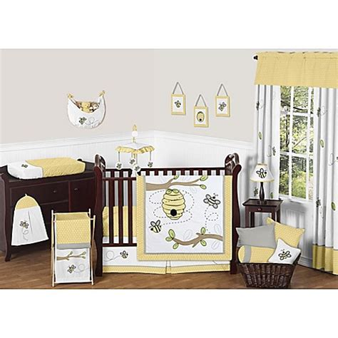 Bee Crib Bedding Sweet Jojo Designs Honey Bee Crib Bedding Collection Bed Bath Beyond