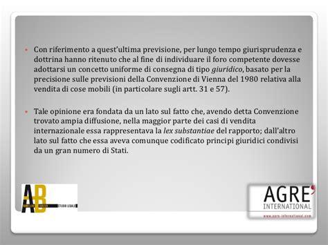 contratto vendita beni mobili competenza giurisdizionale compravendita beni mobili