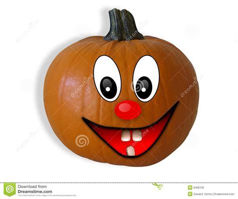 halloween pumpkin isolated happy face stock illustration