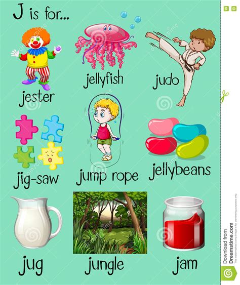 5 Letter Words J Beginning words with e and j 7 gbp