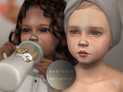 cc hair sims 4 baby read me found in tsr category sims 4 makeup sets 16