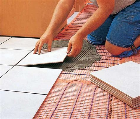 Heated Floors   House  Built Radiant Floor