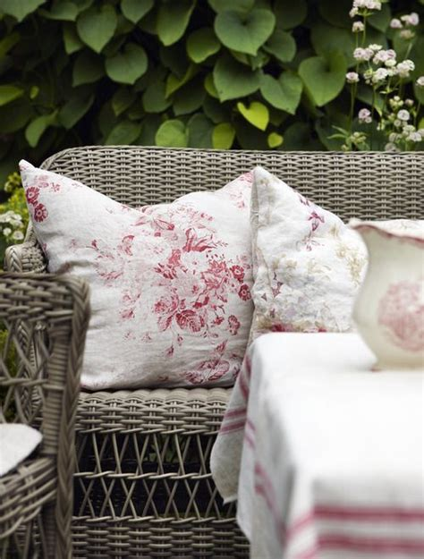 15 Best Shabby Chic Garden Furniture Images On Pinterest Shabby Chic Outdoor Cushions