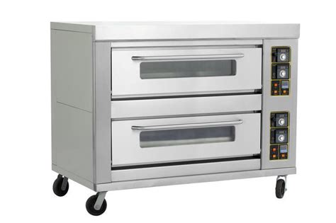 Oven Gas Amira Baking Shop commercial 2decks 4pans pastry food gas baking oven