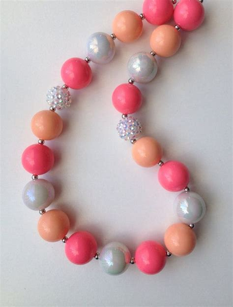 gumball bead necklace 193 best images about chunky on