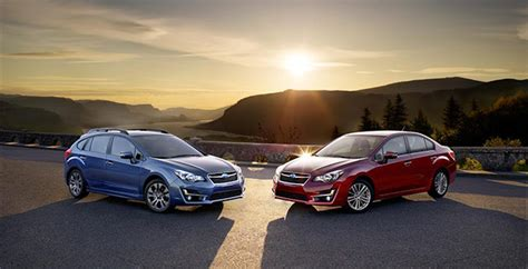 subaru usa upgrades the impreza for the 2015 model year