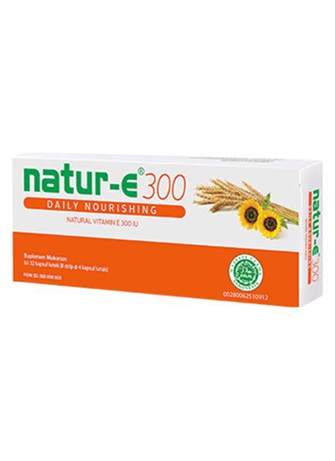 Natur E E100 Iu Vitamin Lunak Natur E Kapsul Vitamin E Untuk Kulit natur e vitamin e 300 daily nourishing box 16 s