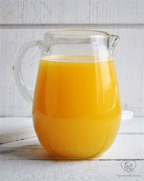 7 Reasons Orange Juice Is For You by Orange Agua Fresca Agua De Naranja Recipe Vitamin C