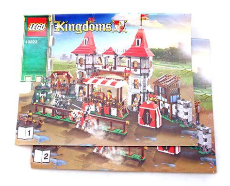 Lego Kingdoms Joust kingdoms joust lego set 10223 1 building sets gt castle gt kingdoms