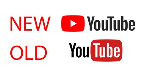 youtube logo design youtube gets a brand new logo and a total design rev
