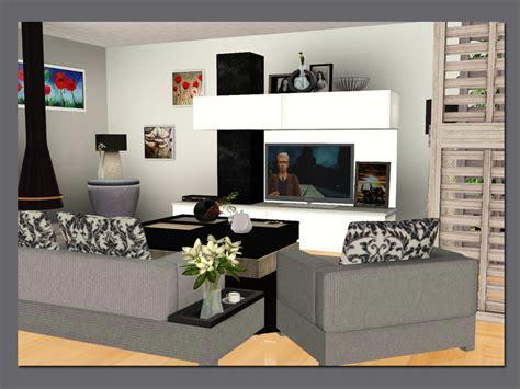 sims 3 living room sets lulu265 s modern living