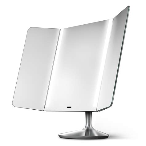 simplehuman lighted makeup vanity mirror 7 best lighted makeup mirrors reviewed top for 2017