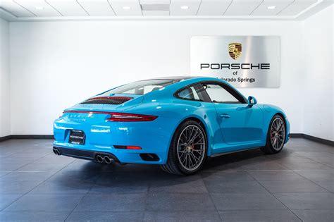 porsche carrera 2017 2017 porsche 911 carrera 4s for sale in colorado springs