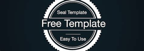 Download Seal Free Fcp X Template Conner Productions Company Seal Template