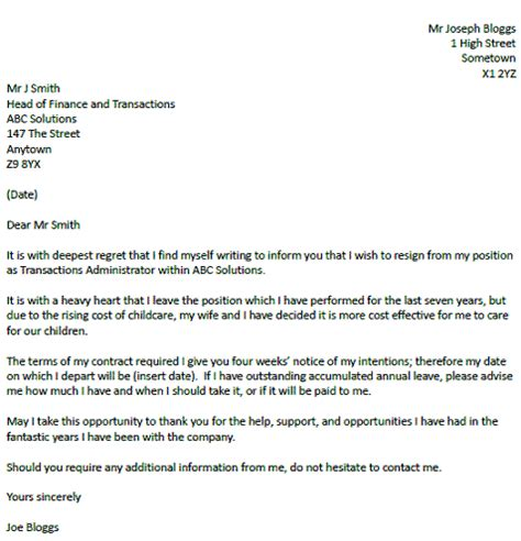 Letter Of Resignation With Regret by Resignation Letter Format Awesome Resignation Letter