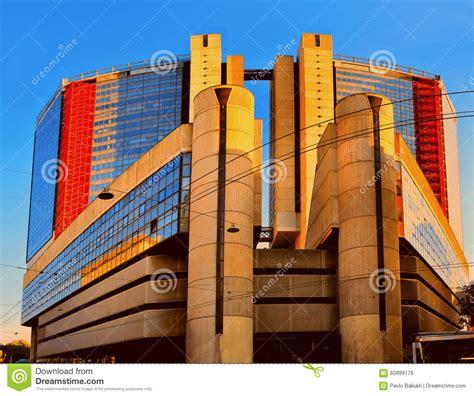 High Tech Architektur by Moderne Architektur High Tech Mit Einer Glasfassade