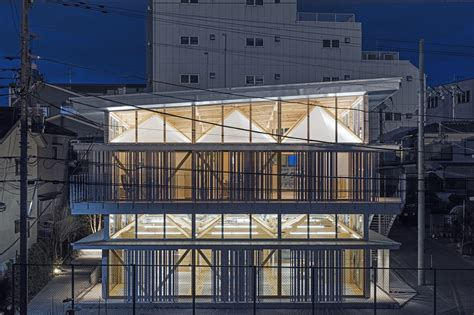 factory pattern exles c substrate factory ayase aki hamada architects archdaily
