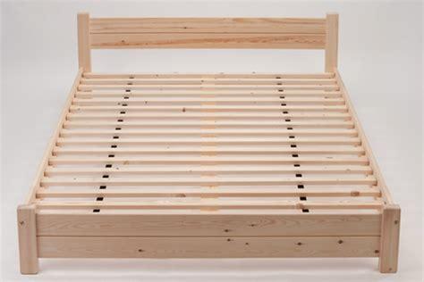 Osaka Low Level Pine Futon Bed Frame Low Level Bed Frame