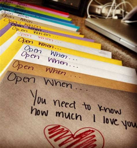 diy gift ideas for husband gift ideas for boyfriend open when envelopes