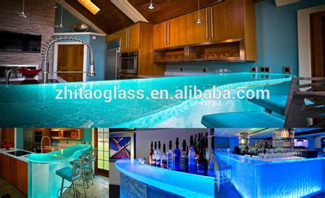 Commercial Bar Tops For Sale Commercial Translucent Led Bar Glass Countertops For Sale