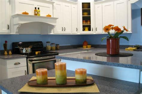 blauer küchenschrank k 252 chenschrank farbe idee