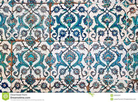 piastrelle arabe mattonelle decorate stile arabo immagine stock immagine