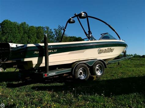 wakeboard boats for sale nc 2000 used malibu sunsetter lxi ski and wakeboard boat for