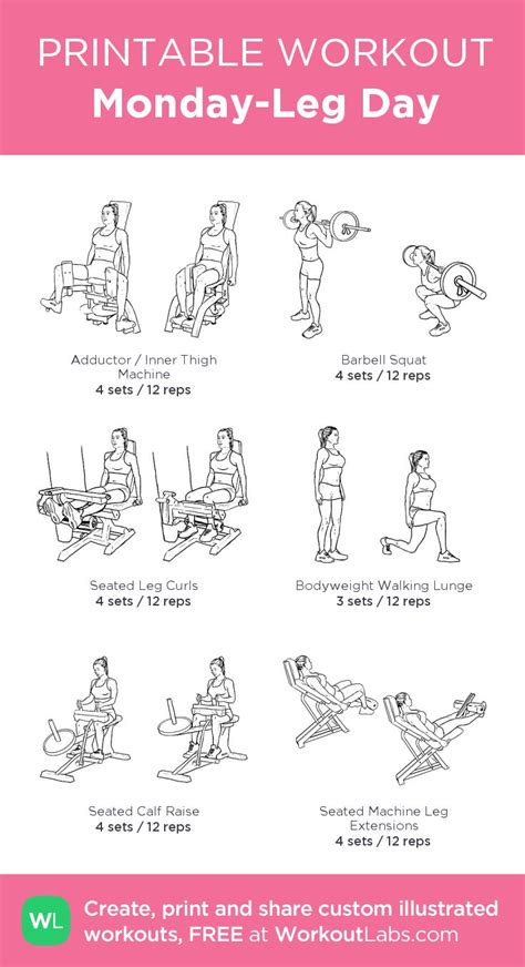 printable volleyball workouts 894 best leg workouts images on pinterest bikini bodies