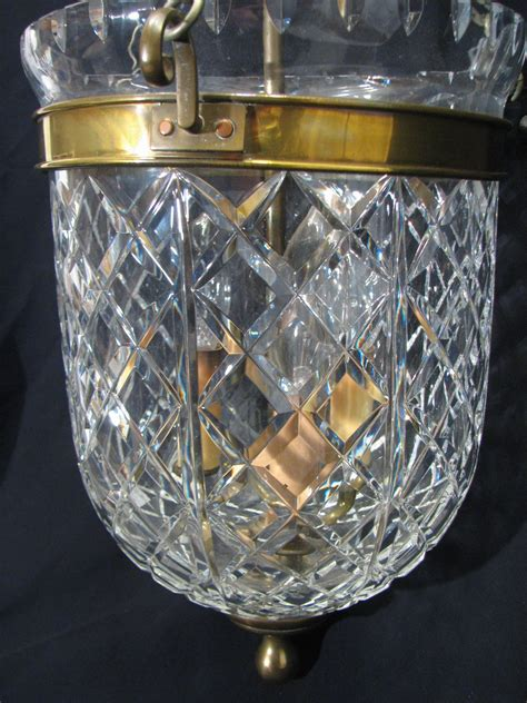 bell jar lantern chandelier waterford bell jar lantern chandelier ceiling l