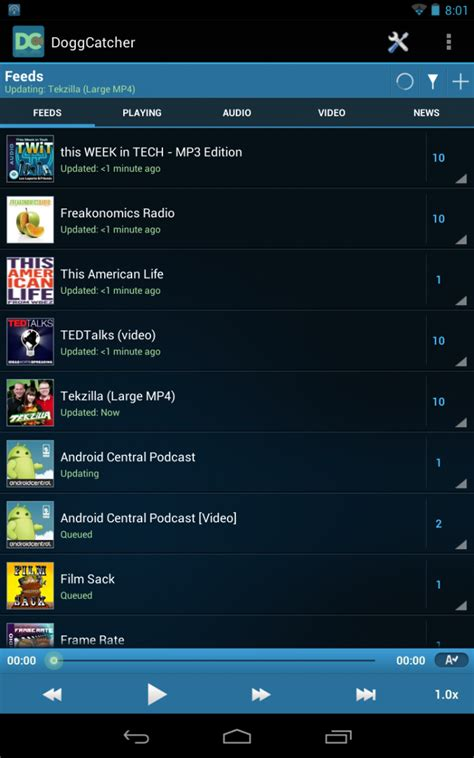 android podcasts five podcast apps for android now that listen is dead android central