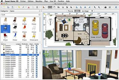 sweet home design 3d online sweet home 3d draw floor plans and arrange furniture