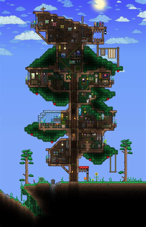 terraria tree house treehouse png terraria pinterest terraria gaming and video games