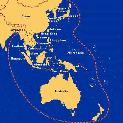 map of australasia the berndts downunder trip