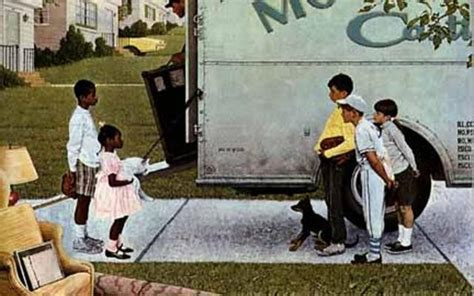 Norman rockwell the west s darkest hour