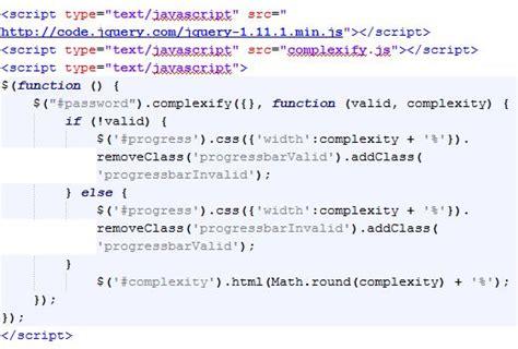 membuat form register pada html cara membuat ukuran kompleksitas password pada form register