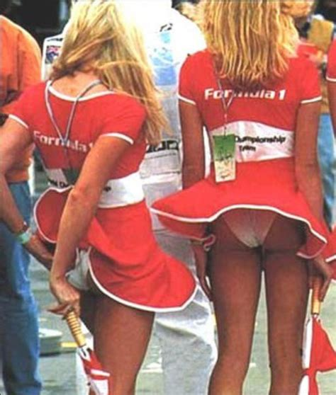 Grid Girls On A Windy Day Formula Grid Girls Pinterest Grid Girls Girls And The O Jays
