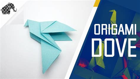 How To Make Paper Doves - origami how to make an origami dove