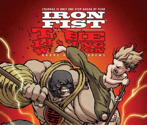 libro iron fist the living iron fist the living weapon 2014 3 comics marvel com