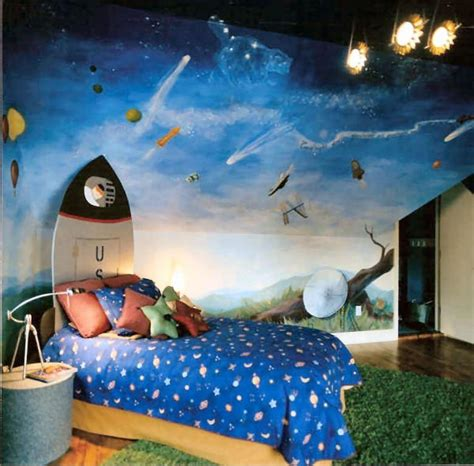 Space Room Decor 15 Space Themed Bedrooms For Boys Rilane
