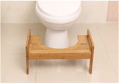 bamboo bathroom stool bamboo toilet stool bathroom squatting footstool yi
