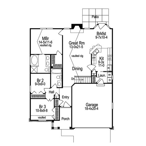 floor plans for entertaining ashmont woods ranch home plan 007d 0060 house plans and more