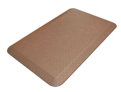 Designer Kitchen Mats Newlife Lets Gelpro Designer Comfort Anti Fatigue Kitchen Floor Mat 20 By 32 Inch Khaki All