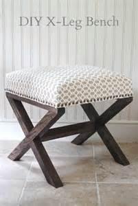 Vanity Stool Tutorial Diy Ottomans Diy Furniture Grey Linen Matching Bedhead