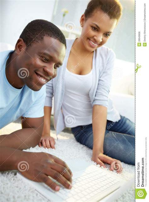 Couples Free Web Surfing Web Royalty Free Stock Image Image 28949906