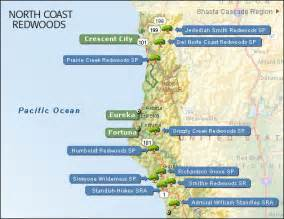 california coastal redwood parks