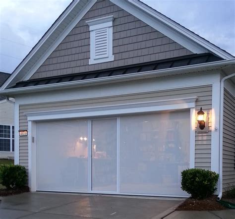 Garage Door Screen Garage Door Screens Retractable Sliding Screen Doors For Garage