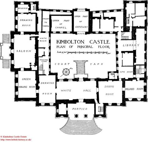 castle floor plan kimbolton castle built 1690 and 1720 by john vanbrugh and
