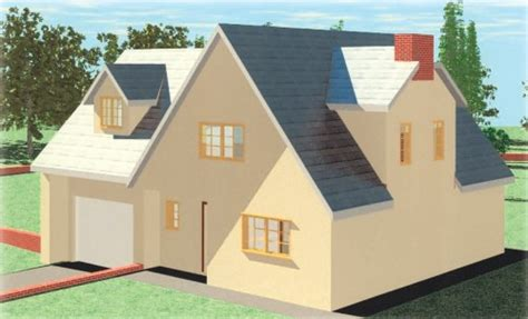 4 Level Split House by Delfan 3 Bedroom Timber Frame Dormer Bungalow With