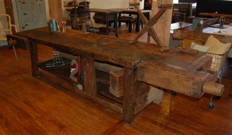 antique work benches yellow chair market 187 antique workbench